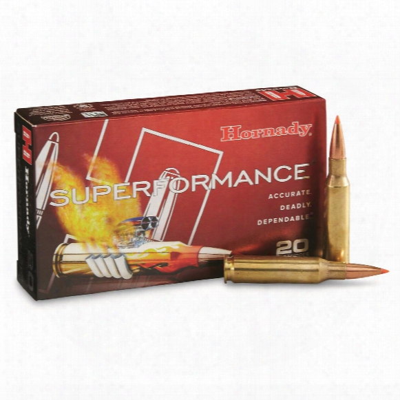 Hornady Superformance, 7mm-08 Remington, Sst, 139 Grain, 20 Rounds