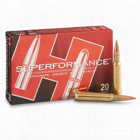 Hornady Superformance, 7mm Mauser, Sst, 139 Grain, 20 Rounds