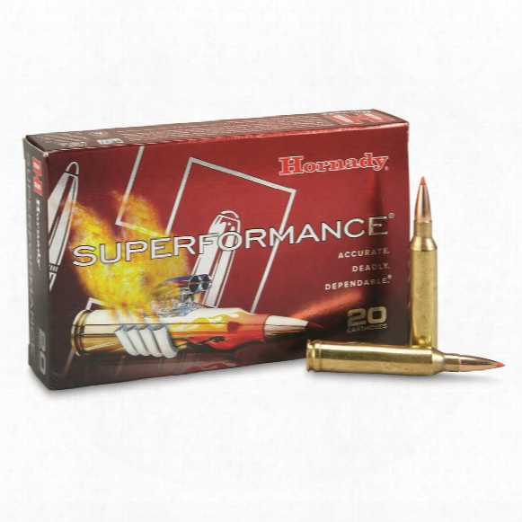 Hornady Superformance, 7mm Remington Magnum, Gmx, 139 Grain, 20 Rounds