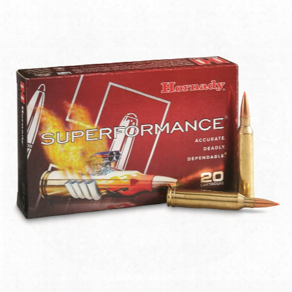Hornady Superformance, 7mm Remington Magnum, Sst, 139 Grain, 20 Rounds