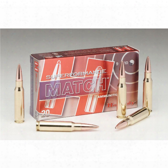 Hornady Superformance Match, .308 Winchester, Hpbt, 178 Grain, 20 Rounds