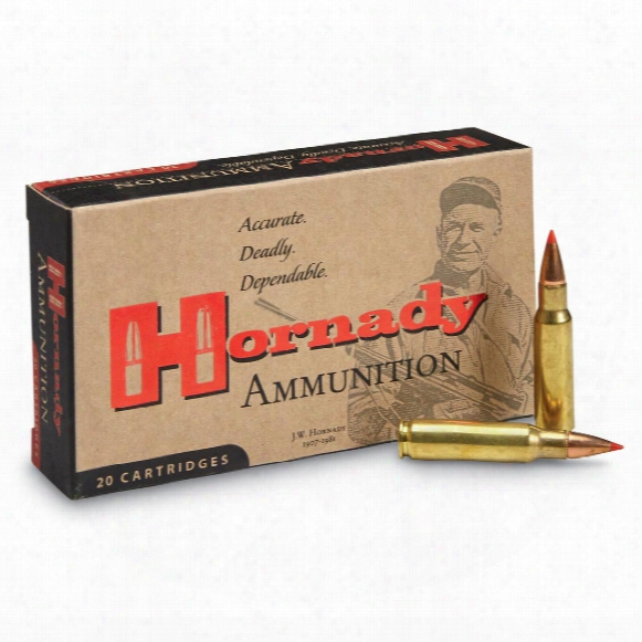 Hornady Varmint Express, 6.8mm Spc, V-max, 110 Grain, 20 Rounds