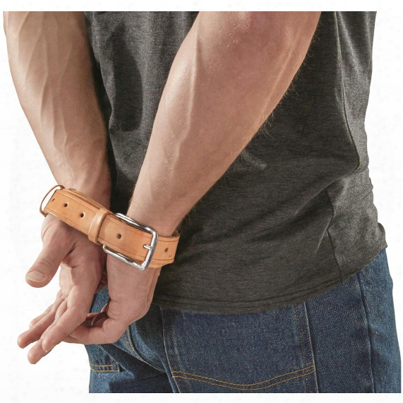 Italian Military Police Surplus Handcuff Belts, 2 Pack, New