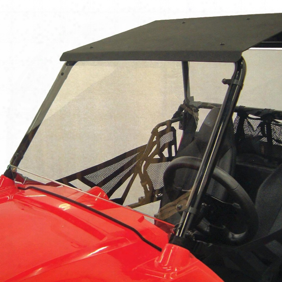 Kolpin Polaris Rzr Youth 170 Roof And Front / Rear Windshield Combo