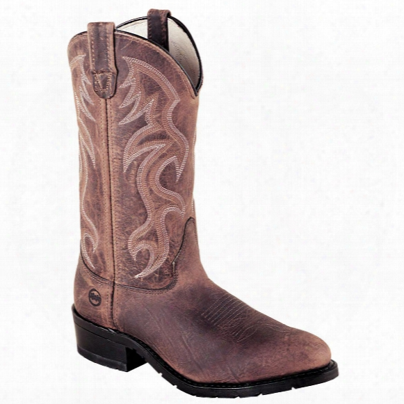 "Men's 12"" Double - H® Steel Toe Western Work Boots"