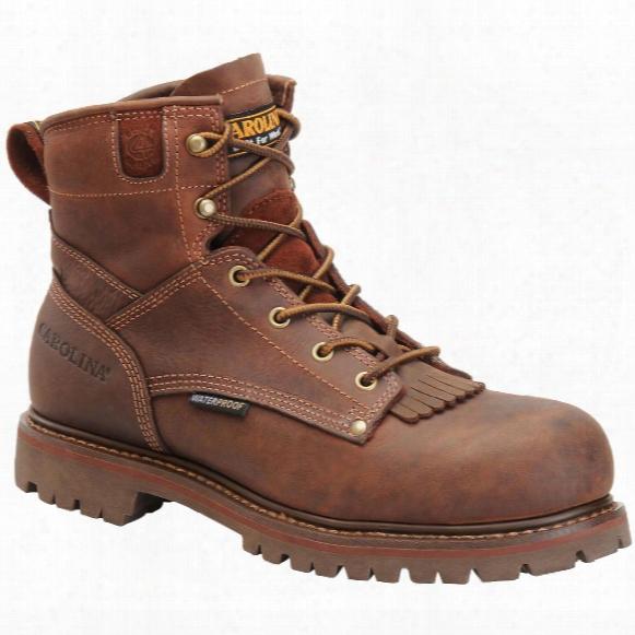 "Men's Carolina® 6"" Waterproof Composite Toe Boots"