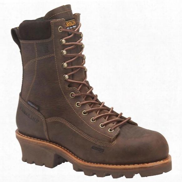 "Men's Carolina® 8"" Waterproof 600 - Gram Thinsulate Ultra Insulation Composite Toe Vibram® Logger Boots"