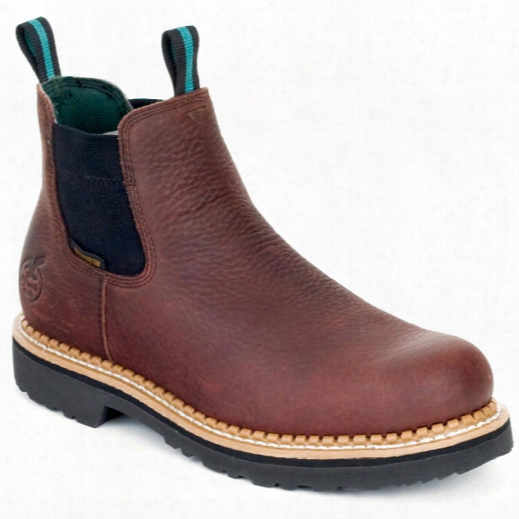 Men's Georgia® Romeo Waterproof Pull-on Boots, Brown