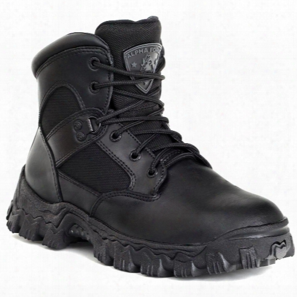 "Men's Rocky® 6"" Alphaforce Waterproof Composite Toe Duty Boots"
