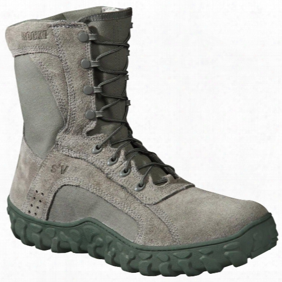 Men's Rocky® S2v Vented Military / Duty Sport Boots, Sage Green