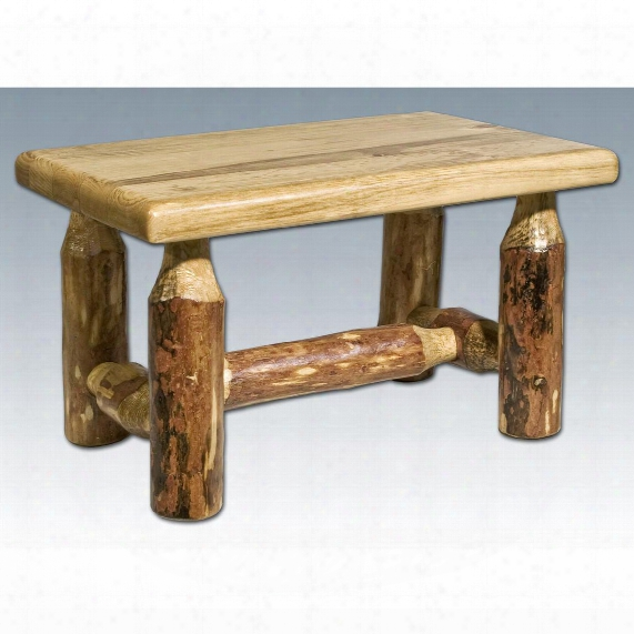 Montana Woodworks® Glacier Country Footstool