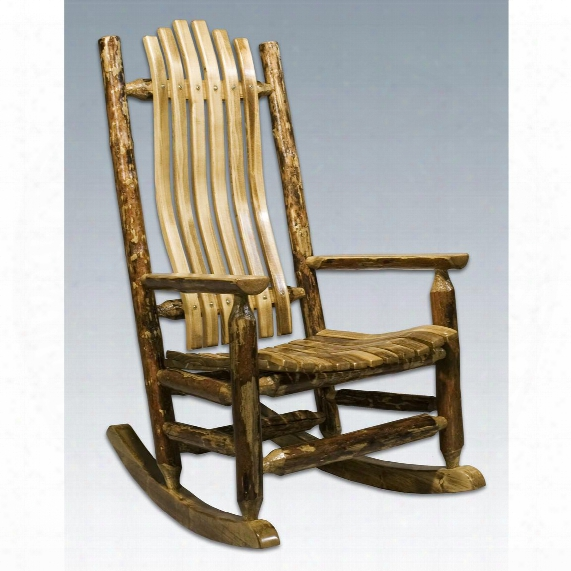 Montana Woodworks® Glacier Country Log Rocking Chair