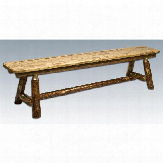 Montana Woodworks® Glacier Country Plank - Style Bench