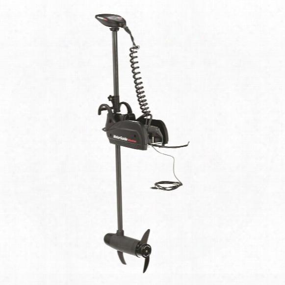Motorguide Wireless Digital Series Electric Steer, Bow Mount Trolling Motors With 55-lb. Peak Thrust