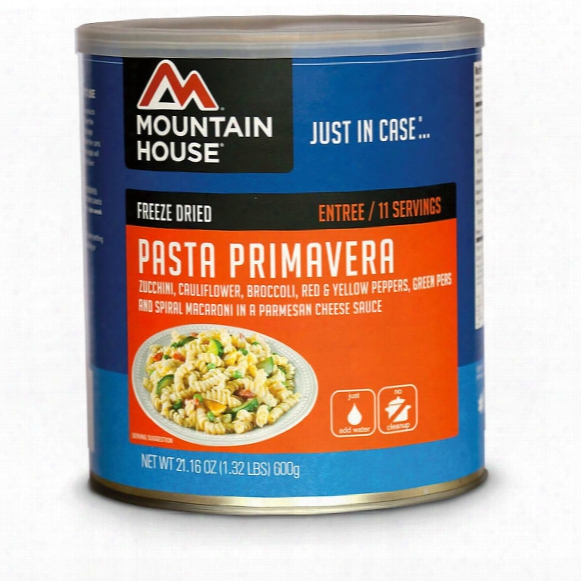 Mountain House Emergency Food Freeze-dried Pasta Primavera, 11 Servings