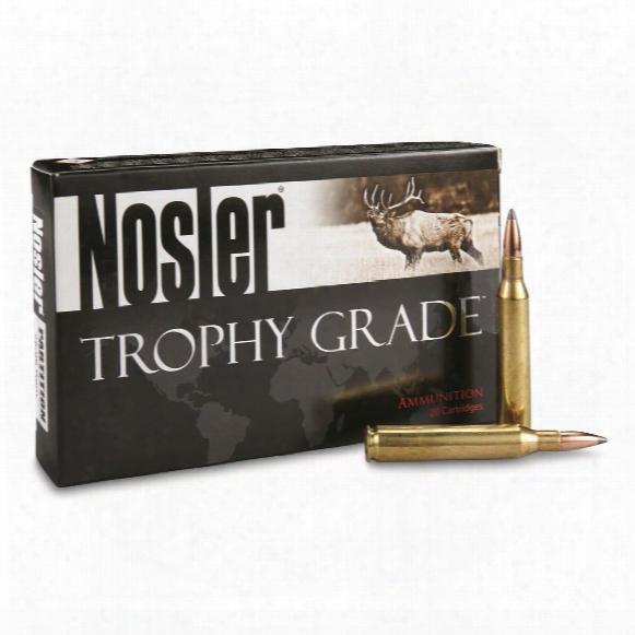Nosler Trophy Grade 25-06 Rem 100 Grain Pt 20 Rounds