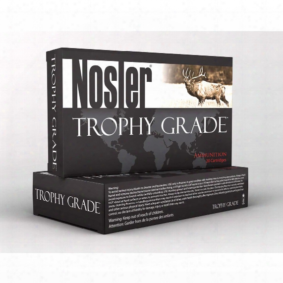 Nosler Trophy Grade .257 Wby Mag 110 Grain Ab 20 Rounds