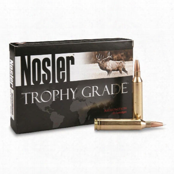 Nosler, Trophy Grade, 264 Win Mag, Ab, 130 Grain, 20 Rounds