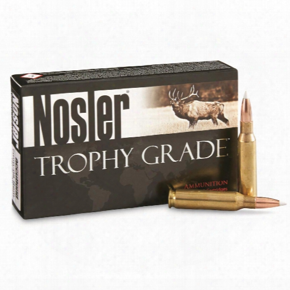 Nosler Trophy Grade, 7mm - 08 Rem, Ab, 140 Grain, 20 Rounds