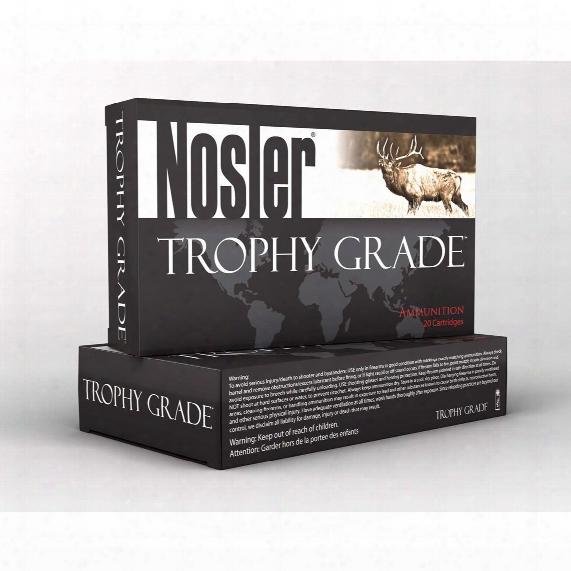 Nosler Trophy Grade™ 7mm Stw 160 Grain Ab 20 Rounds