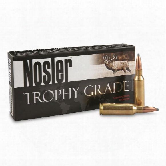 Nosler® Trophy Grade .300 Rem.® Sa Ultra Mag 165 Grain Pt 20 Rounds