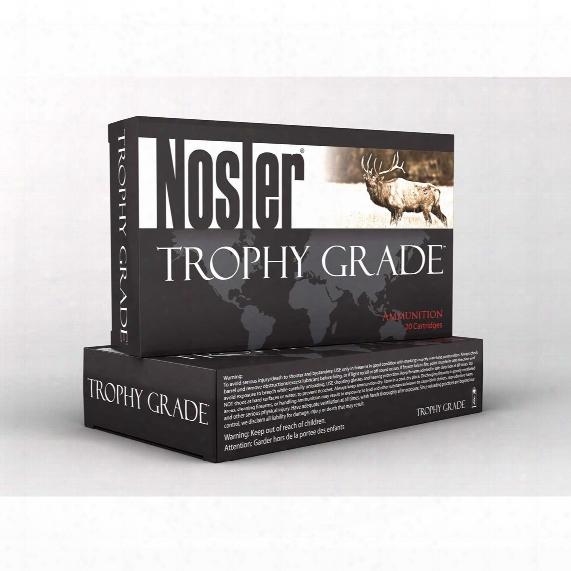 Nosler® Trophy Grade™ .308 Win.® 165 Grain Ab 20 Rounds