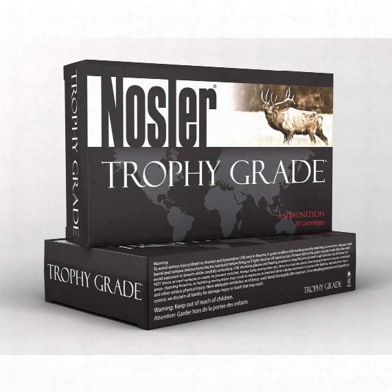 Nosler® Trophy Grade™ .325 Wsm 200 Grain Ab 20 Rounds