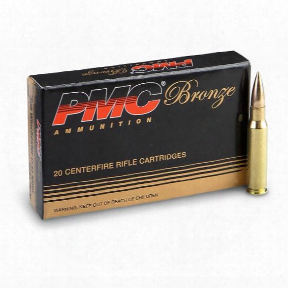 Pmc Bronze, .308 Winchester (7.62 Nato), Fmjbt, 147 Grain, 120 Rounds