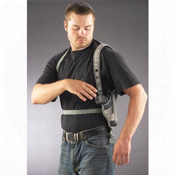 Polyester Pistol Shoulder Holster, Medium/large Frame Handguns, Right Hand