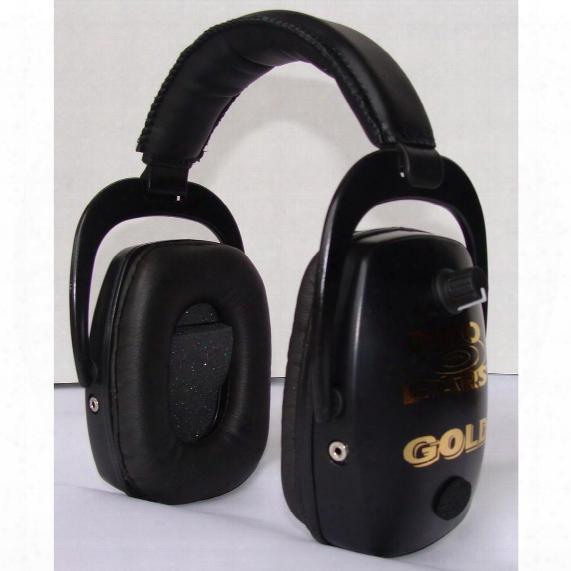 Pro Ears® Pro Slim Gold Hearing Protection And Amplification Ear Muffs