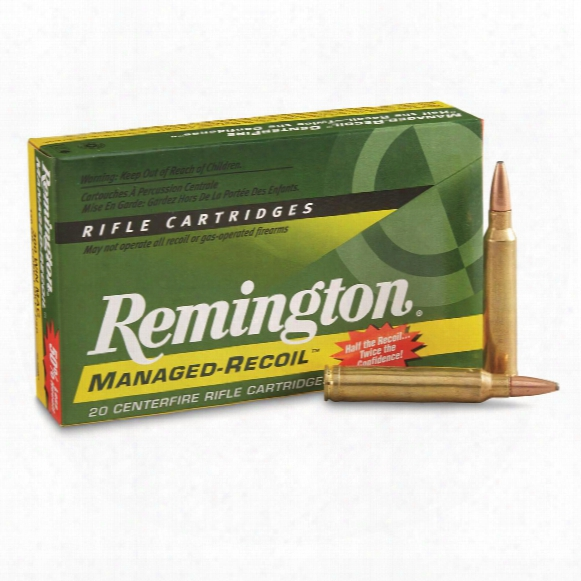 Remington, Managed Recoil Rifle, .300 Winchester Magnum, Core-lokt Psp, 150 Grain, 20 Rounds