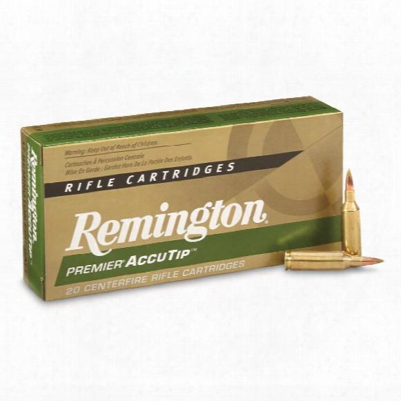 Remington Premier, .17 Remington Fireball, Accutip, 20 Grain, 20 Rounds