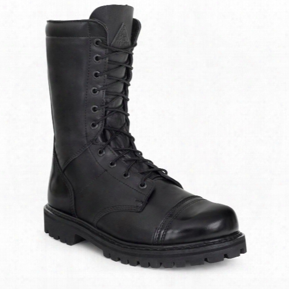 "Rocky Men's 10"" Side Zip Jump Boots"