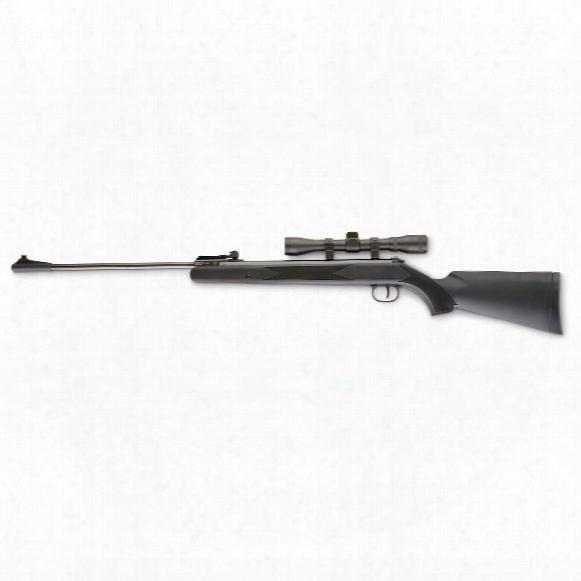Ruger Blackhawk Air Rifle, Break Barrel, .177 Caliber, 4x32mm Scope
