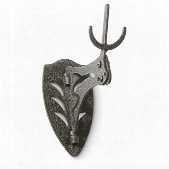 Skull Hooker Little Hooker Skull Antler Mount, Brown