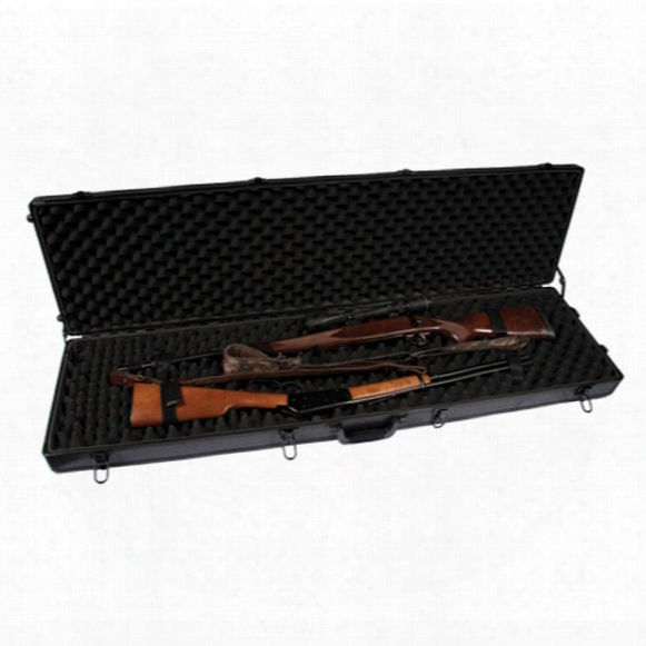 Sportlock® Aluminumlock Double Rifle Case With Wheels