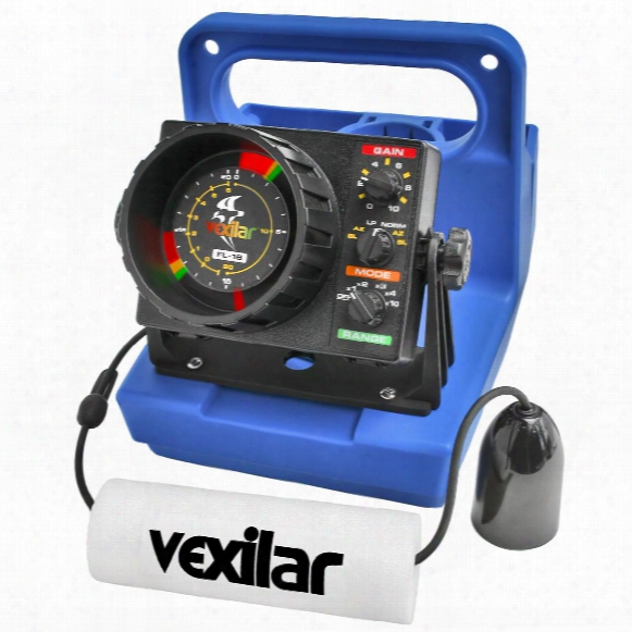 The Fl-18 Genz Pack With 12° Ice-ducer From Vexilar