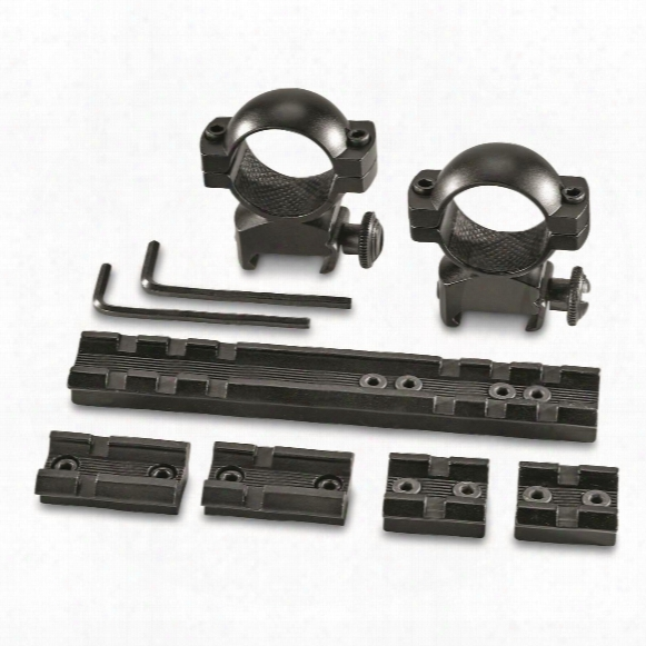 Traditions Universal Muzzleloader Scope Rings And Base Kit