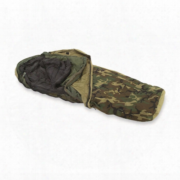 U.s. Military Ecws Sleeping Bag System, 3 Piece, New