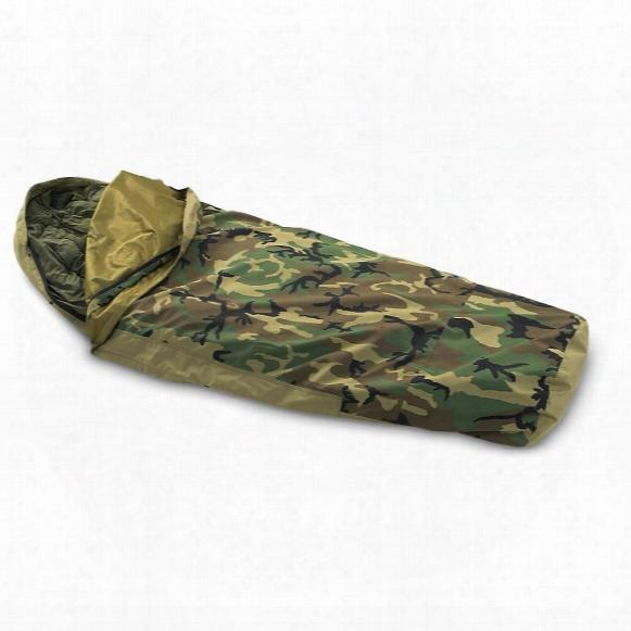 U.s. Military Surplus Gore-tex Bivy Cover, Woodland Camo, New
