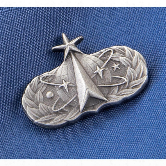 U.s. Military Surplus Usaf Senior Space Operations Badge, New