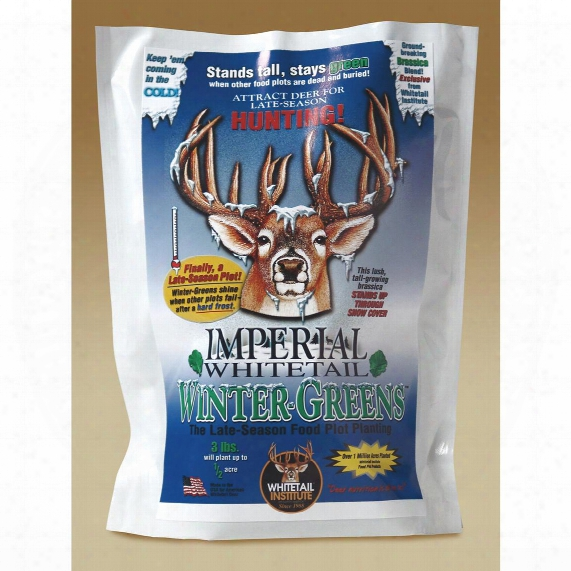 Whitetail Institute 12 Lb. Bag Imperial Whitetail Winter - Greens™
