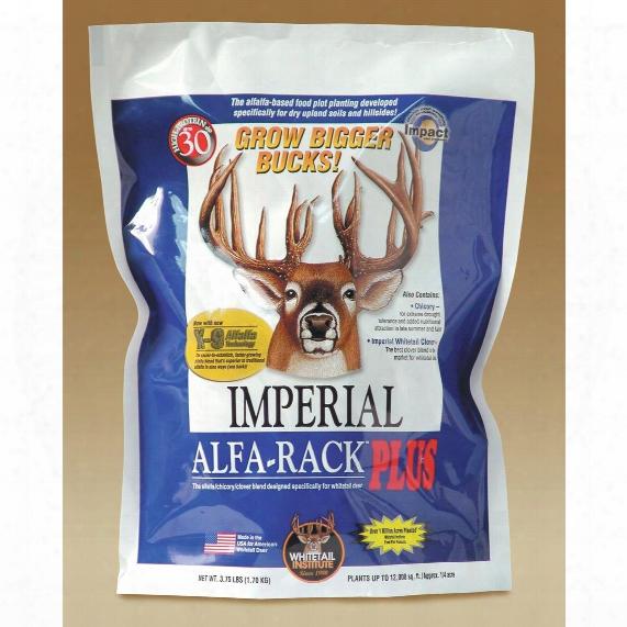 Whitetail Institute&zmp;amp;reg; Imperial Alfa-rack Plus, 16 1/2 Lb. Bag