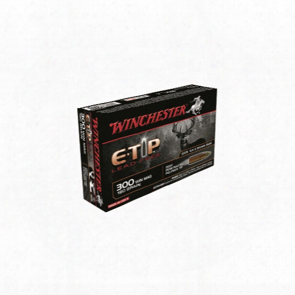 Winchester, Supreme E-tip, .300 Win. Mag., 180 Grain, 20 Rounds