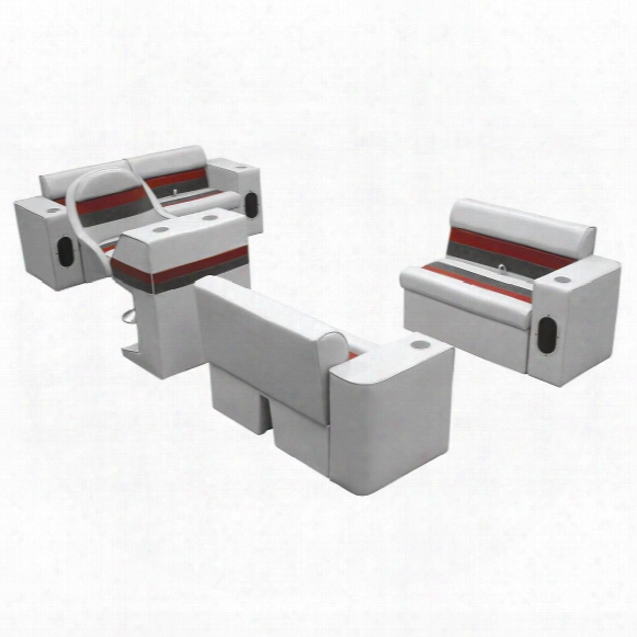 Wise Complete Deluxe Pontoon Boat Seat (d) Style Seating