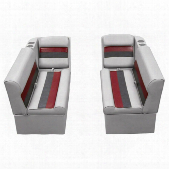 Wise Front Group Deluxe Pontoon Boat Seat (c) Style Seating
