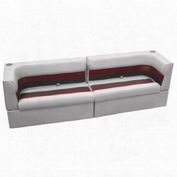 Wise Rear Group Deluxe Pontoon Boat Seat (a) Style Seating