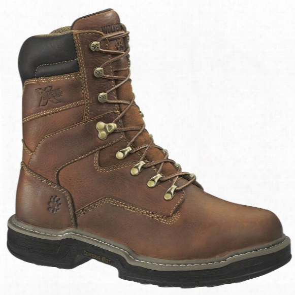 "Wolverine® Men's Raider 8"" Multishox Soft Toe Boots, Brown"