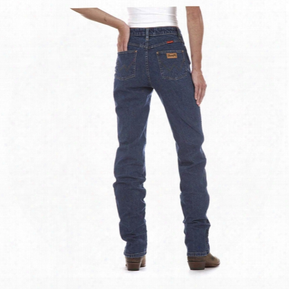 "Wrangler® Women's 30"" Inseam Cowboy Cut, Natural Rise Slim Fit Jeans"