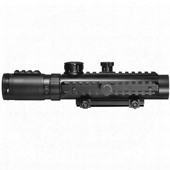 1-3x30 Mm Illuminated Reticle Multi Rail Electro Sight By Barska